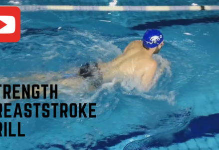 strength breaststroke drill